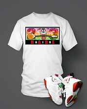 Custom T-shirt To match Hare Air Retro Jordan  Size S-10XL White Pro Club Tee
