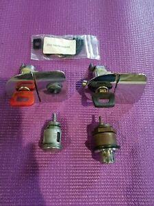 OEM Porsche 914 Keyed Lock Set L&R Door Handles Ignition Trunk Lock w/2 Keys