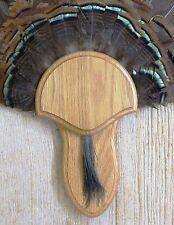 Solid Medium Oak Turkey Fan / Beard Mounting Kit -02