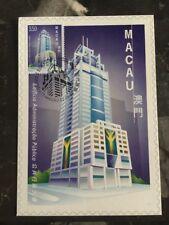 1999 Macau PostCard Exhibition Cover Public Admin.  Building 3.5 Pataca Stamp
