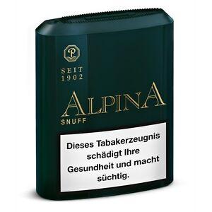 Alpina Snuff 10g Schnupf Tabak - Pöschl