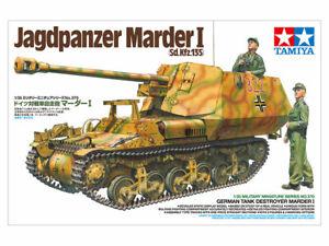 Tamiya 35370 1/35 GERMAN TANK DESTROYER MARDER I Sd.Kfz135 w/ 2-Figure 3-Marking