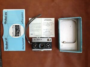 Rollei 35 chrome Carl Zeiss Tessar 35/40mm made in Germany