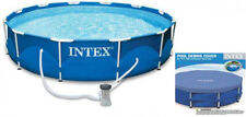 10 X 2.5-Foot Above Ground Swimming Pool Set W Filter Pump Cover Metal Frame