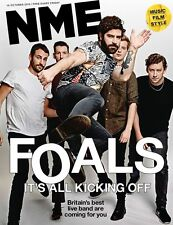 NME MAGAZINE OCTOBER 2015 THE FOALS MEG REMY GORILLAZ LADY GAGA RUSSELL BRAND