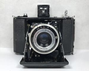 Zeiss Ikon Nettar Original Folding Film Camera Novar Vario 1:6.3 f=75mm Lens