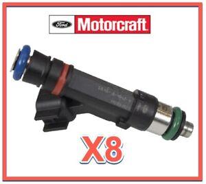 For Ford E-350 Econoline Club Wagon /& E-350 Econoline Fuel Injector Set BuyAutoParts 35-80140I1 Remanufactured