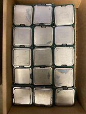Lot of 20 Intel E8500 Processors   2nd Gen   Socket 775 3.16GHZ0