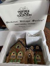 Dept 56 Dickens Village Nottinghill Church In Box