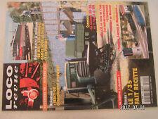 ** Loco Revue n°619 Porte autos au 1/87 / Les BB MTE / Bercy 98