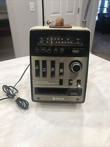 Weltron Spin Off? 8 Track Player AM/FM Radio By SOLAR Japan Portable PSR 800