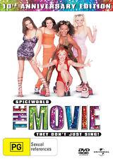 SPICEWORLD The Movie (1997) Region 4 [DVD] Spice Girls World