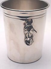 Julep Cup Sterling Silver beautiful Horse Head Style  BRAND NEW