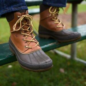 NEW $120 SPERRY Top-Sider Cold Bay Men Insulated Duck Boot Tan/Brown SELECT SIZE