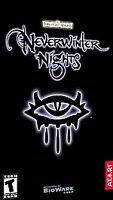 Forgotten Realms Neverwinter Nights Atari Bioware 2002 PC Game CD-ROM Big Box