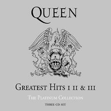QUEEN *Greatest Hits: I II & III: The Platinum Collection *NEW 3 CD SET