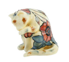 "Old Tupton Ware Cat Collection Figurine 3"" Yellow Poppy TW1660"