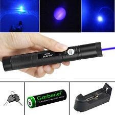 900mile Laser Pointer Pen Power Blue Light Visible Beam Lazer Battery Charger
