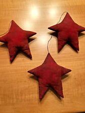 New listing Three Jennifer Schneeman Folk Art Stars