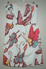 Judith March Butterfly Strapless Dress Womens Size Large