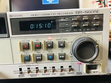 Jvc Video Cassette Recorder BR-S605E
