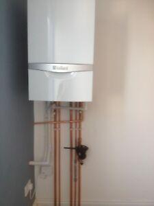Vaillant EcoTec Plus 832 ERP combi + flue & ESI wireless room stat installed