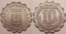 La Capelle, Union Commerciale & Industriele, 10 Centimes 1921, SUP !!