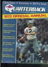 Pro Quarterback 1972 Annual Roger Staubach Dallas Cowboys  MBX52