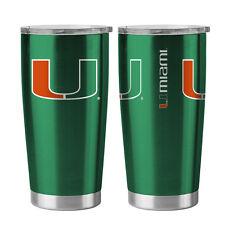 Miami Hurricanes Travel Tumbler - 20oz Ultra [NEW] NCAA Cup Mug Coffee