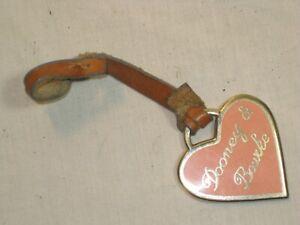 DOONEY & BOURKE purse tag  Key FOB Ring heart Logo Keychain