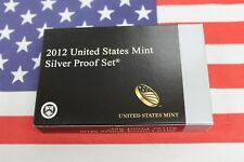 2012 S Silver Proof set  - Complete Original Packaging w/ COA's