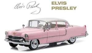 GREENLIGHT 12950 ELVIS PRESLEY PINK CADILLAC FLEETWOOD 1955 model car 1:18th