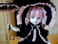 OOAK Living Dead Dolls Custom Made Doll - Lucille the Vampiress - goth lolita