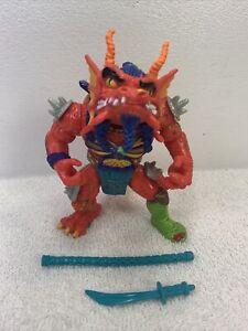 TMNT HOTHEAD Action Figure 1992 Vintage Teenage Mutant Ninja Turtles 2 accessor