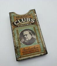 More details for antique carreras clubs virginia tin cigarette waistcoat sleeve