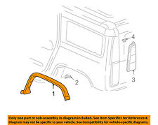 Hummer GM OEM 03-09 H2 Ext-Wheel Well Fender Flare Arch Molding Left 15255714