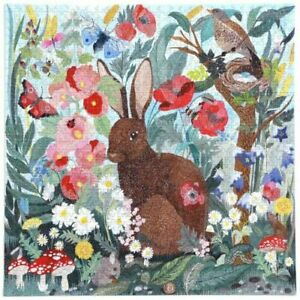 Eeboo Poppy Bunny 1000 Piece Family Jigsaw