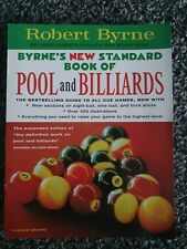 Robert Byrne Byrne's New Standard Book Of Pool And Billiards NEW