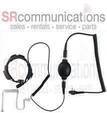 Throat mic PTT headset Icom F4011 F24 F14 F3001 F3011 F4001 F11 F21 F3G F4031