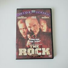 The Rock (DVD, 1997, Canadian, Widescreen) Sean Connery   English French