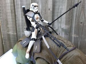 Star Wars Black Series Dewback and Sandtrooper Loose Complete 6 Inch Scale
