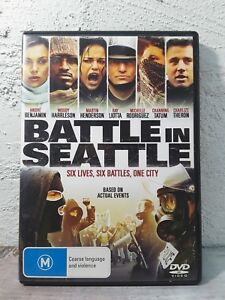 Battle in Seattle DVD Charlize Theron