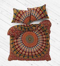 Mandala Bedding Set Queen Soft Bedclothes Indian Bohemian Print Duvet Cover Set