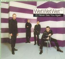 Wet Wet Wet(CD Single)If I Never See You Again-New