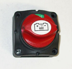Battery Master Switch 275amp BEP 'Contour' 701 'ON-OFF'        Pt.no.8-90010