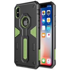 Apple iPhone X 10 NILLKIN Outdoor Case Defender II Series Hybrid Hülle Bag Grün