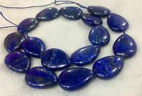 diy Natural 13x18mm Egyptian Lapis Lazuli teardrop Gemstone Loose beads 15'' AAA