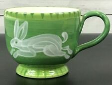 Starbucks Coffee Mug Ciao Italya Hand Painted In Italy Bunny Rabbit RARE NEW NWT