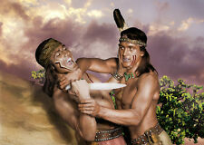 Rock Hudson, Rex Reason - Taza Son of Cochise - BUY 5 AND GET 1 FREE 8 1/2 X11