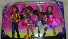 Disney Descendants 4 Dolls, Wicked World Neon Ball, Jay, Freddie, Audrey, Carlos